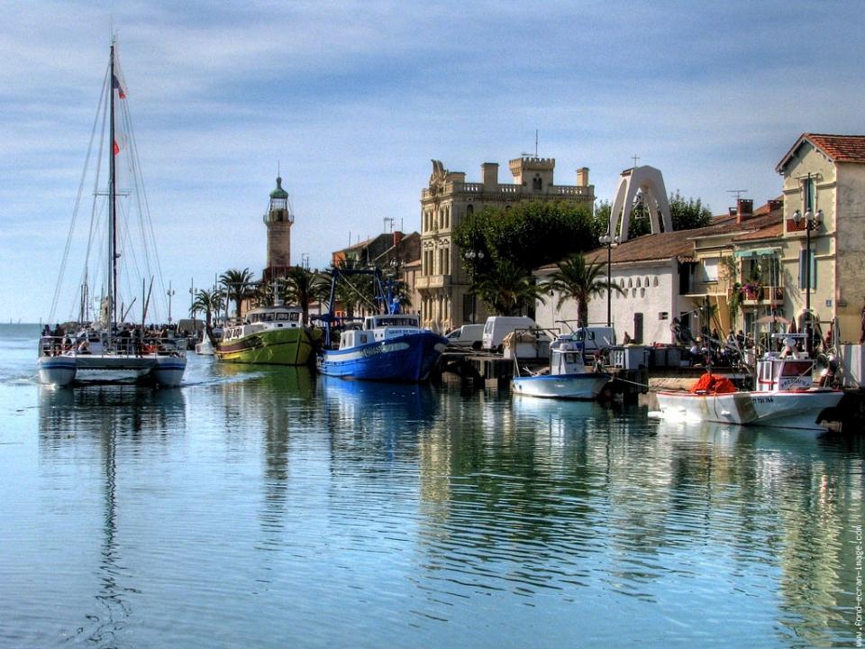 Villa appartement le grau du roi fleur de sel pierre azur - Meteo marine de cerbere a port camargue ...