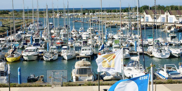 23 - Le port du Chichoulet
