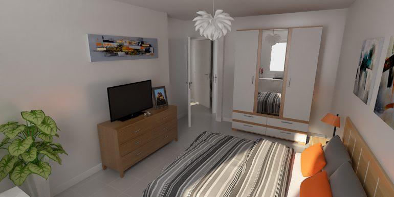 Lot 208 T3 R2 Coeur Azur - Vue Chambre 1