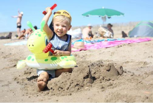 le sable fin pour les petits et grands